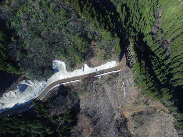 平成28年度 地方創生道整備推進交付金事業(開設) 岩神・大石線(2工区)